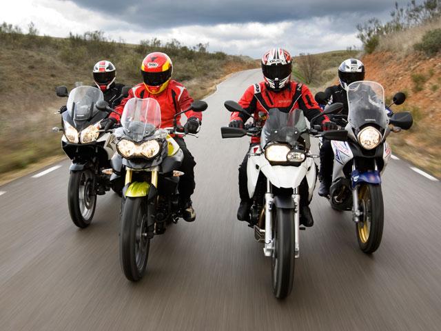 Comparativa Trail, prueba de la Triumph Tiger 800 y Rally Dakar
