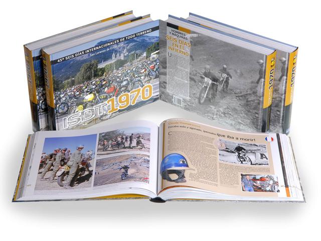 Libro de los Seis Días de Enduro de Madrid en 1970
