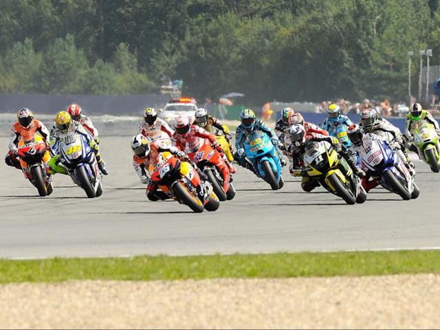 Listas provisionales del Mundial de MotoGP