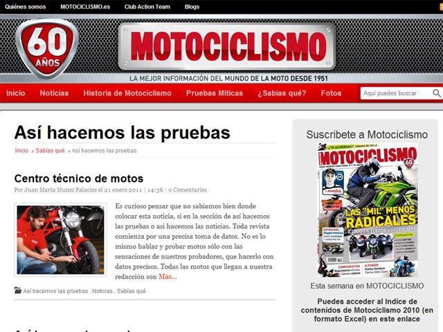 Motociclismo 60 Aniversario