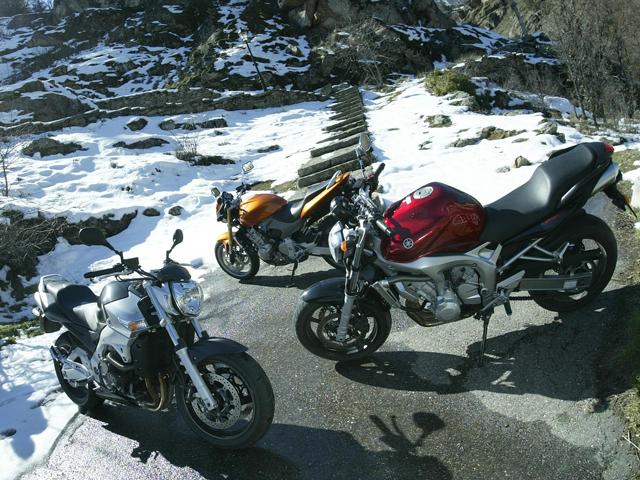 Usa la moto en invierno