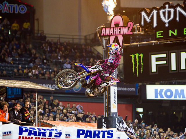James Stewart se impone en el Supercross de Los Angeles
