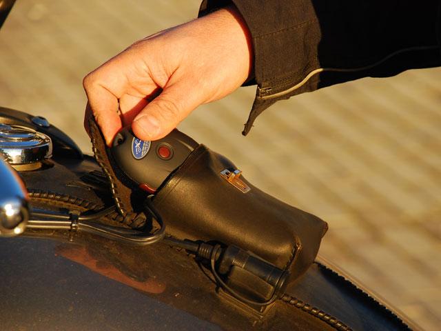 GPS para localizar la moto en caso de robo