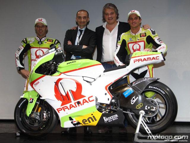 Presentación del equipo Pramac Racing Ducati