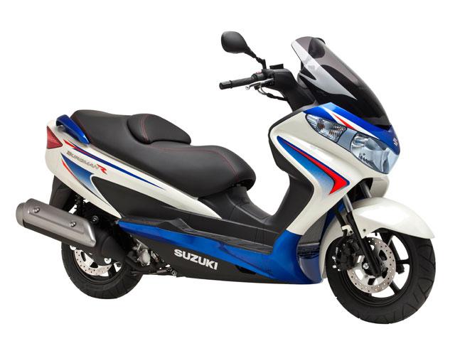 Suzuki Burgman 125/200 con seguro gratis