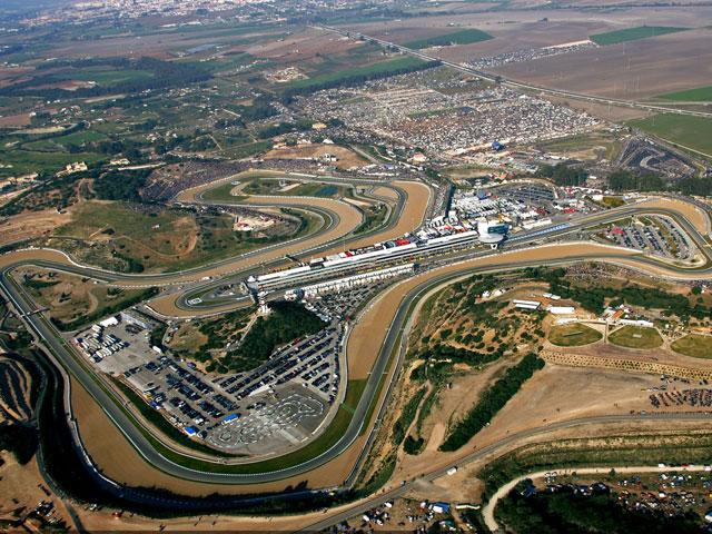 Orden de embargo con el Circuito de Jerez