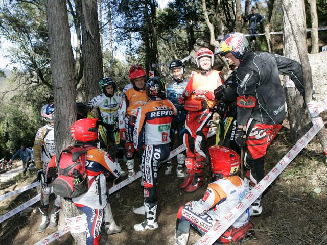Trial de Castelloli: Caos en la primera carrera del Campeonato de España
