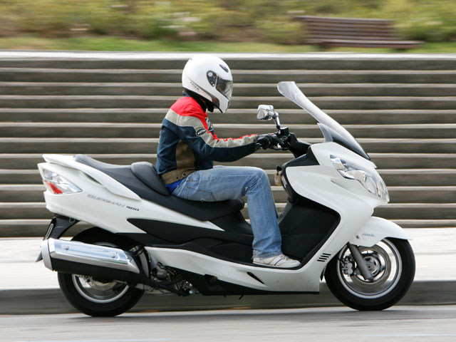 Promoción Suzuki Burgman 400/ABS
