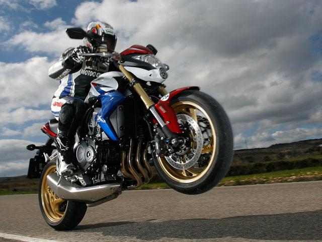Honda CB 1000 R y Suzuki GSX-R 600