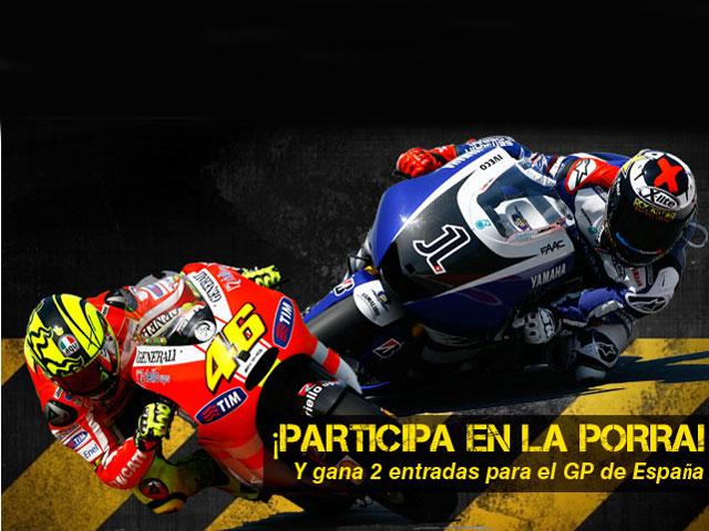 Participa en nuestra porra de MotoGP
