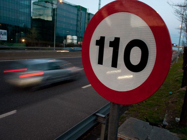El Tribunal Supremo admite a trámite el recurso contra el límite a 110 km/h