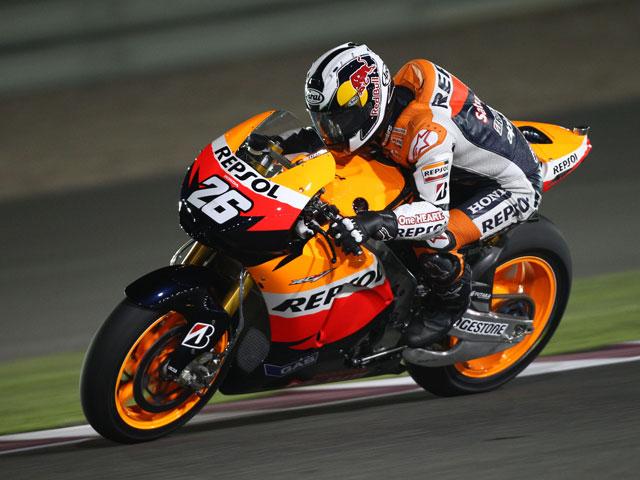 Dani Pedrosa, el más rápido en Qatar