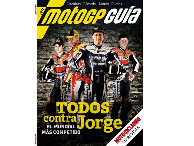Guía MotoGP 2011, de Motociclismo