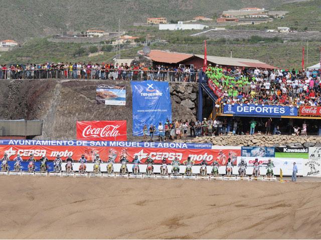 Campeonato de España de Motocross MX Elite, en Tenerife