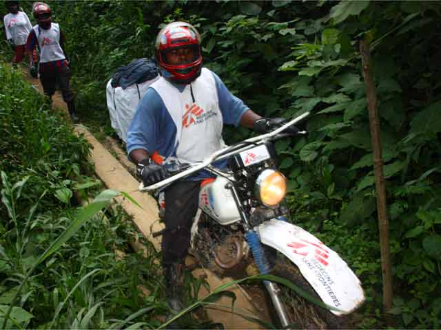Médicos sin Fronteras, en el Congo