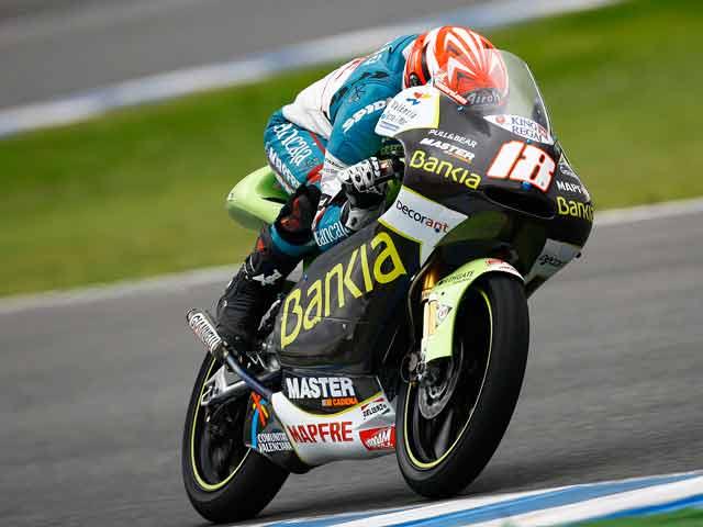 Nico Terol, el más rápido de los pilotos de 125 cc