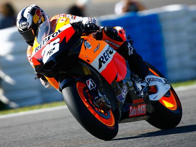 Entre Stoner y Pedrosa. Primeros libres de MotoGP del GP de Jerez