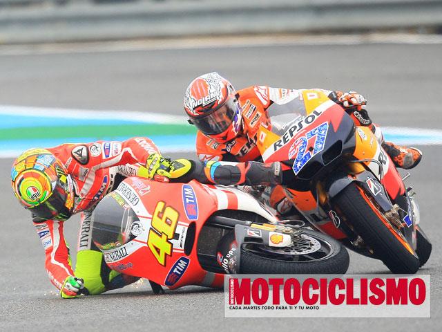 Rossi y Stoner, un episodio más de una tensa relación