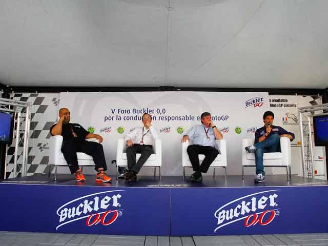 Foro Buckler 0,0 por la conducción responsable en MotoGP