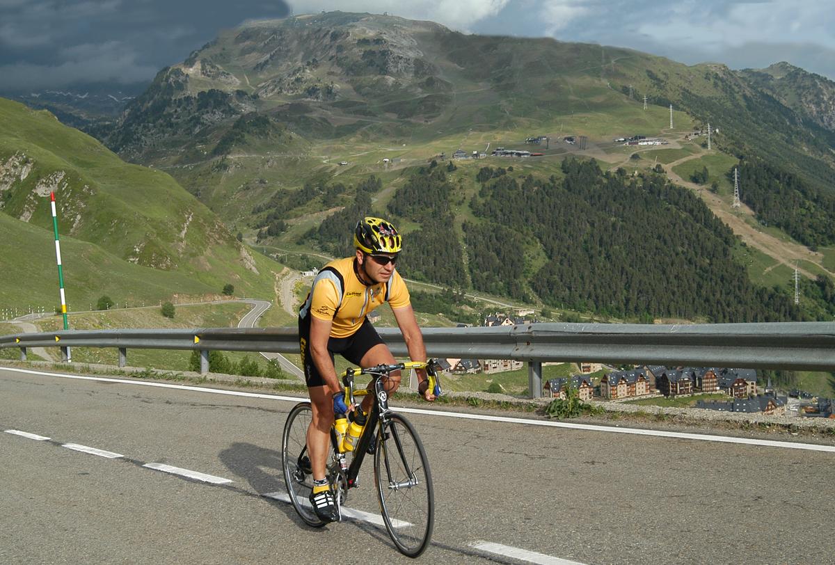 Pablo Bueno, viviendo entre dos ruedas