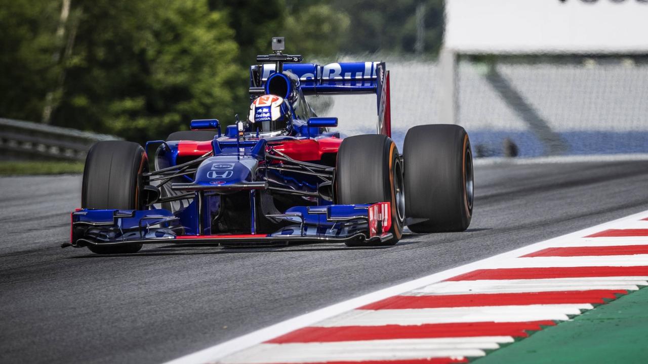 Dani Pedrosa en el Toro Rosso de Fórmula 1