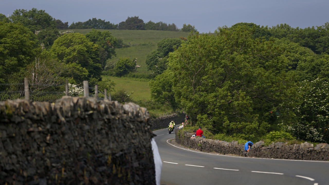Raül Torras en el TT de la Isla de Man 2018