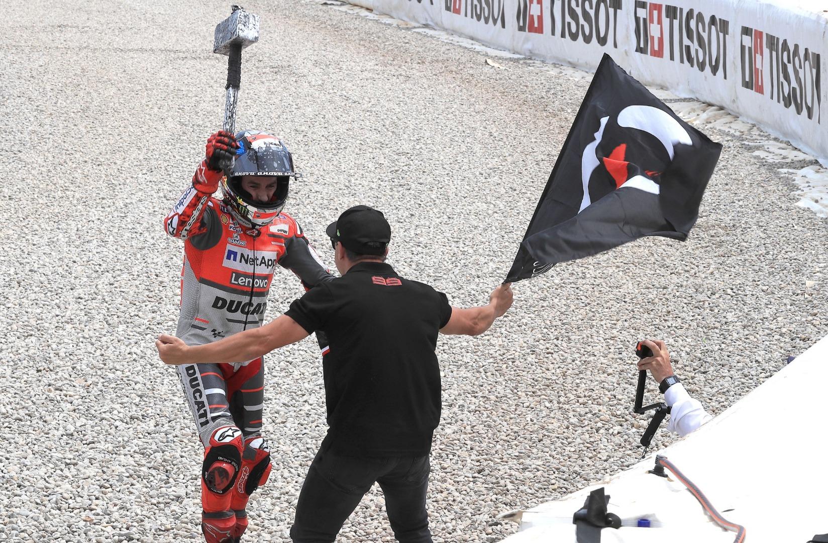 Jorge Lorenzo GP Catalunya 2018