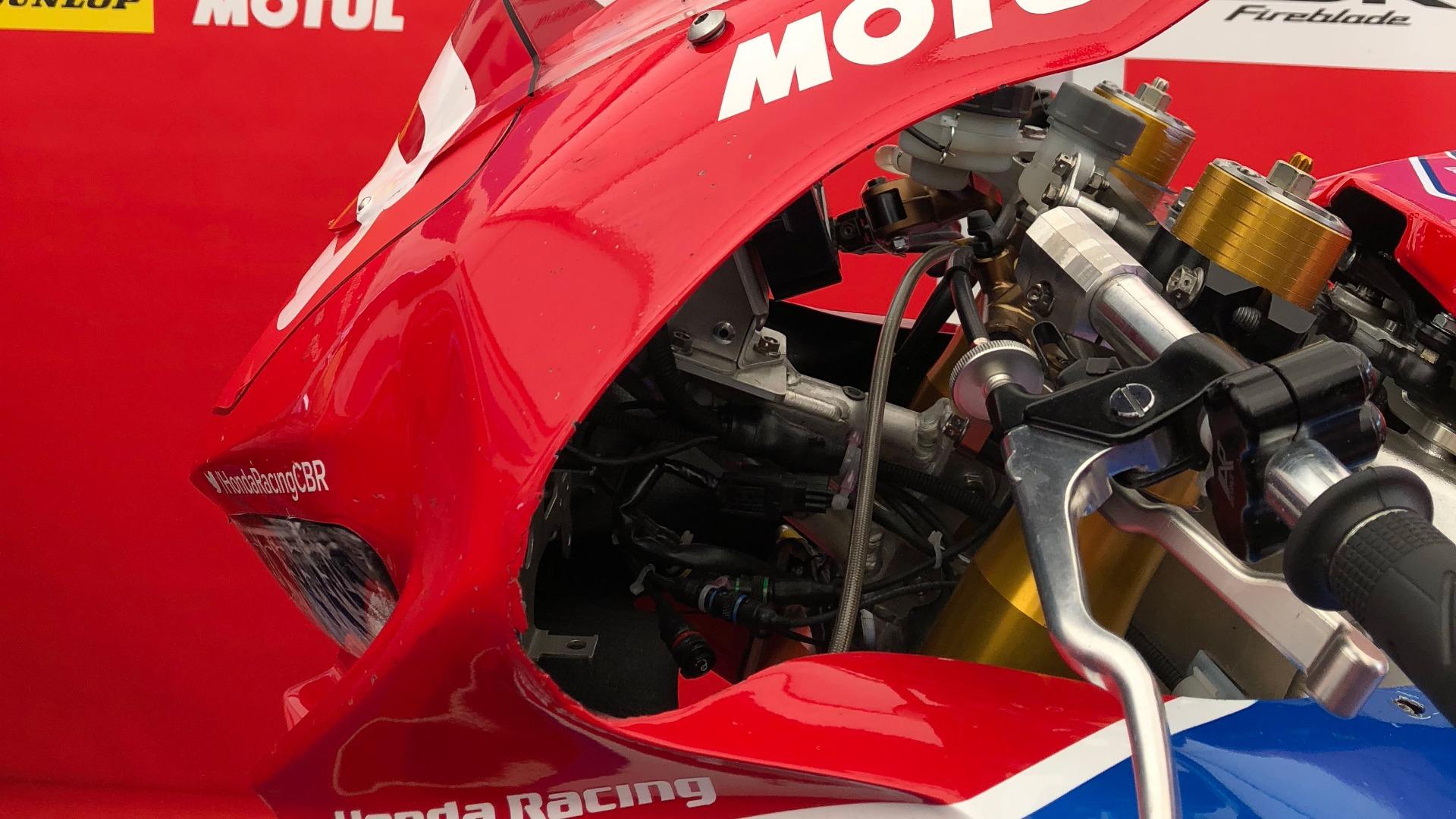 Honda CBR 1000 RR SP2 en el Tourist Trophy