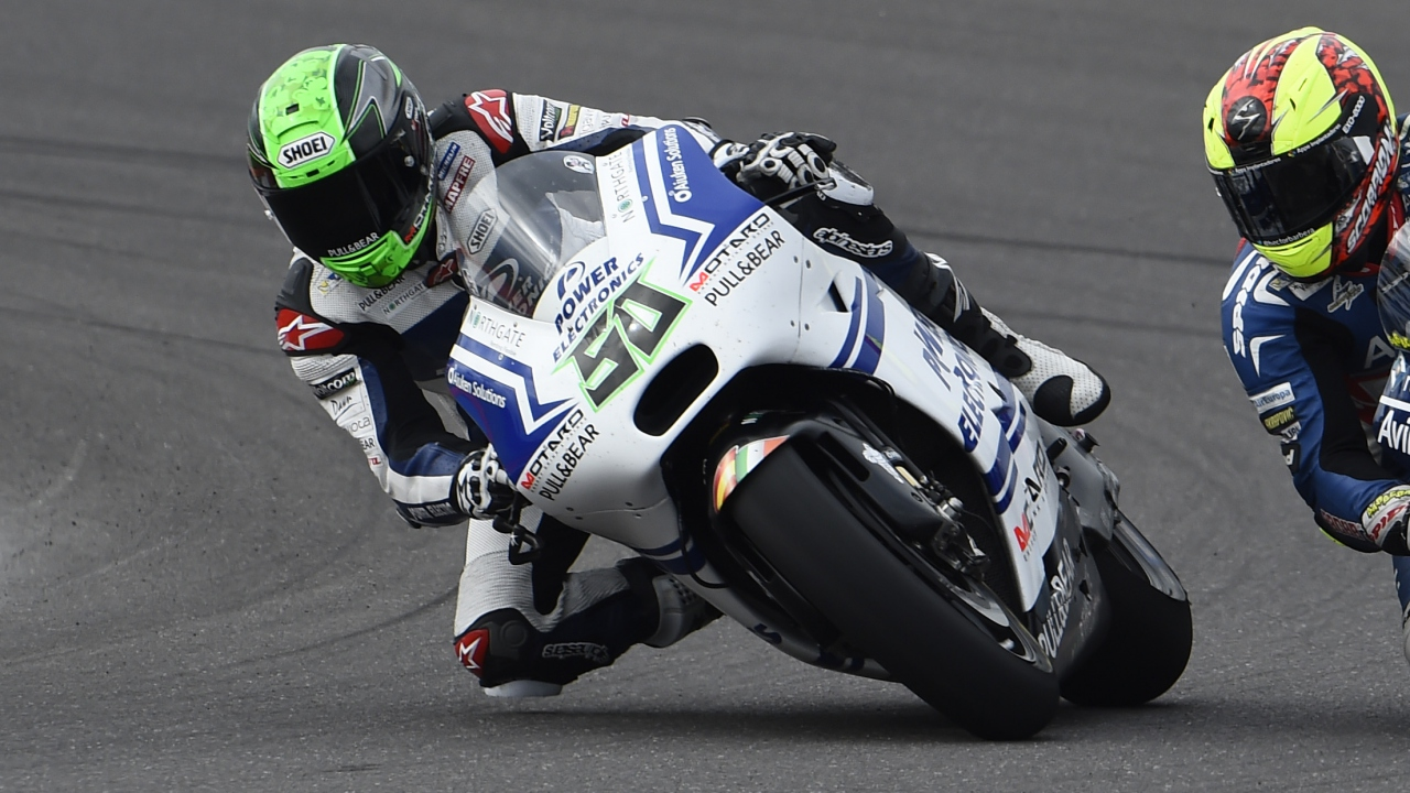 Eugene Laverty, el chocolate y las burbujas