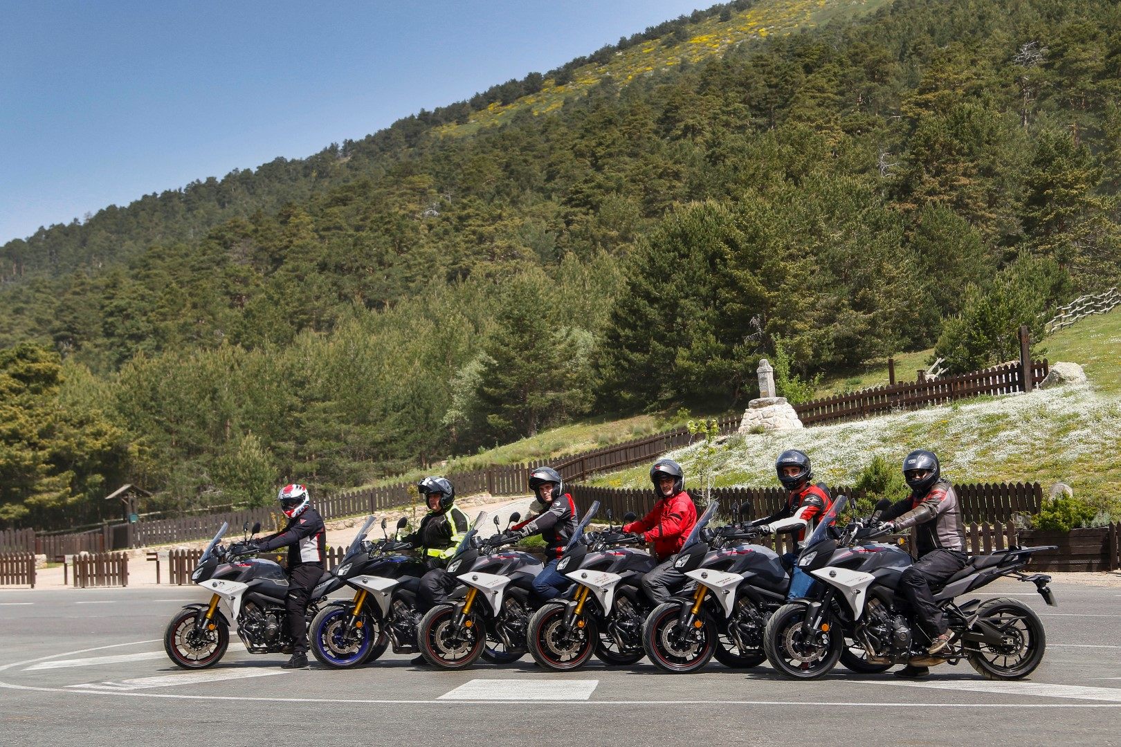 Yamaha Tracer 900 GT 2018, ruta con lectores