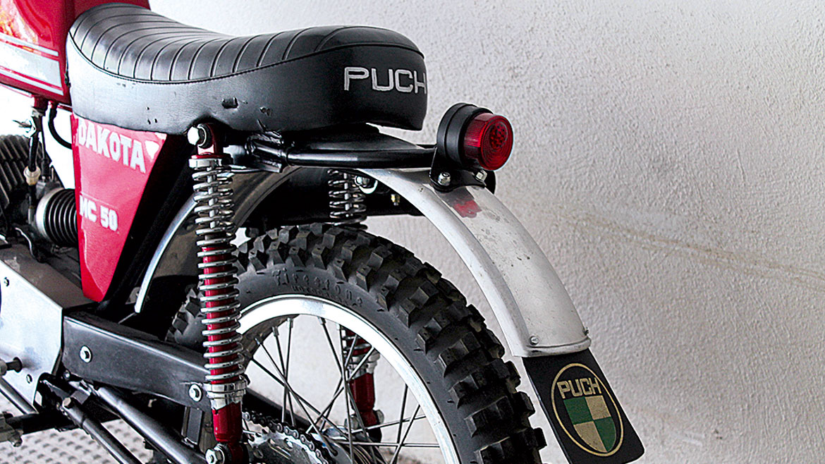 Puch MC 50 Dakota 1973: Made for the USA