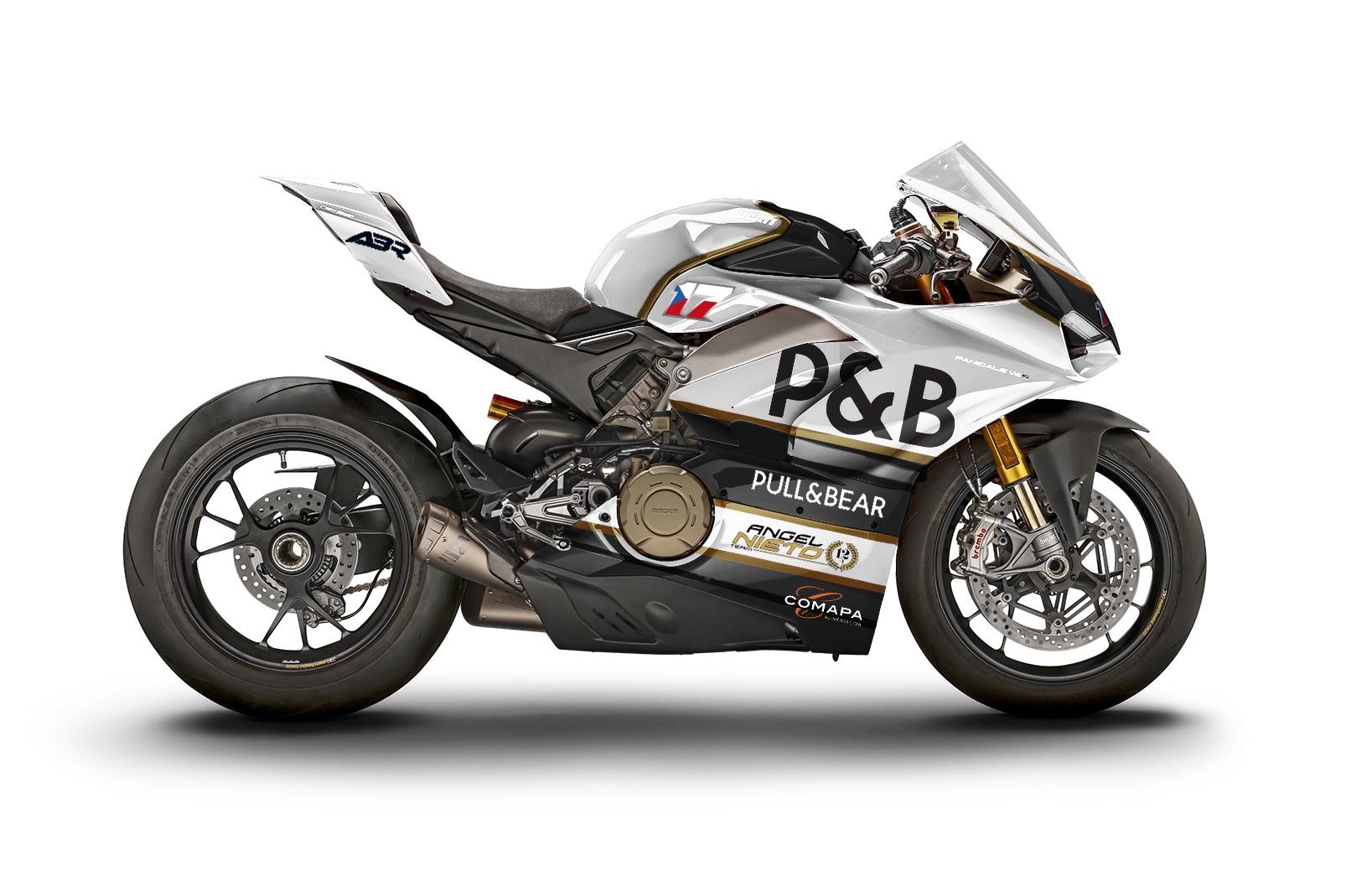 Ducati V4 Panigale Ángel Nieto Team