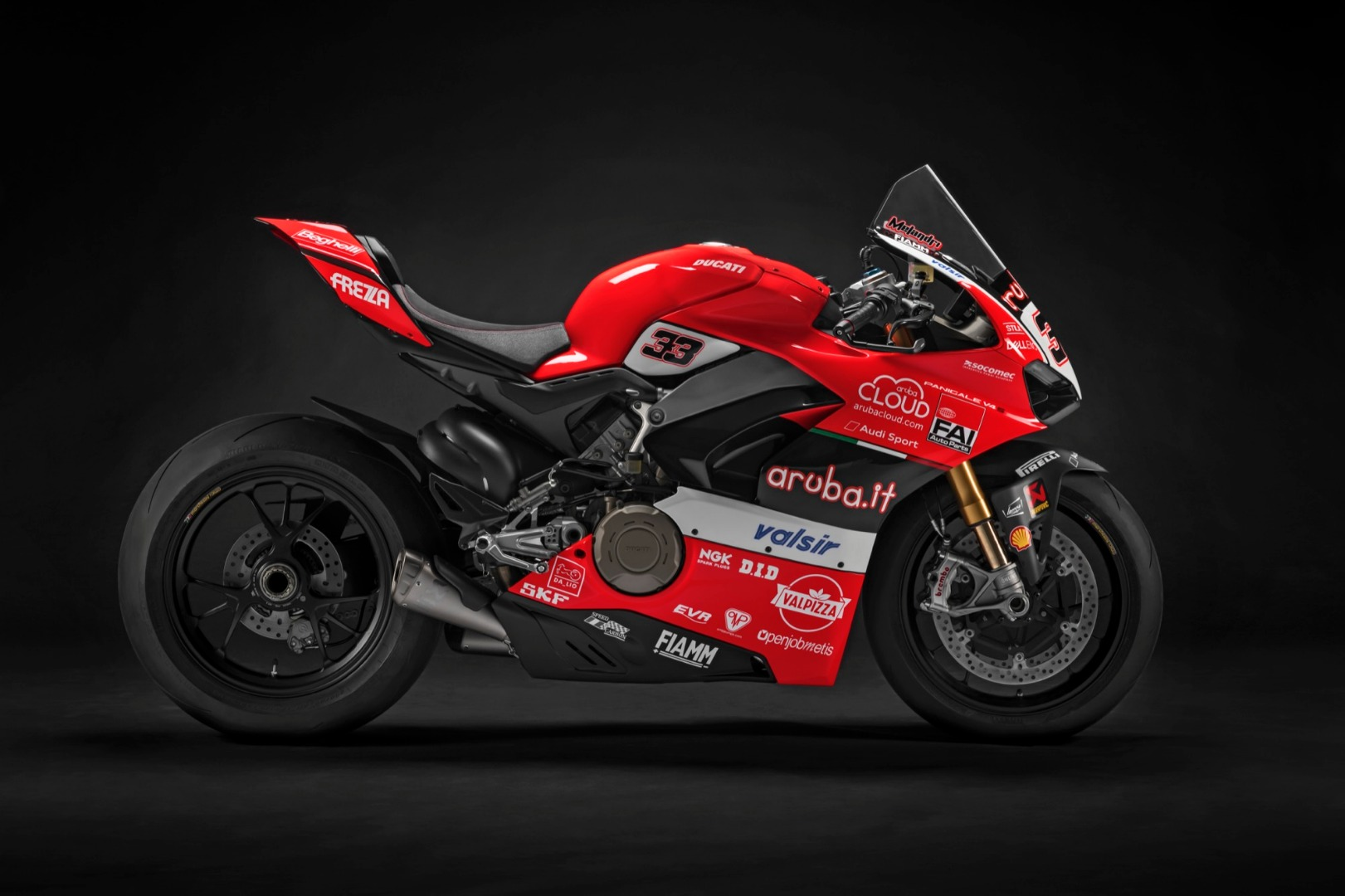 Ducati V4 Panigale Marco Melandri