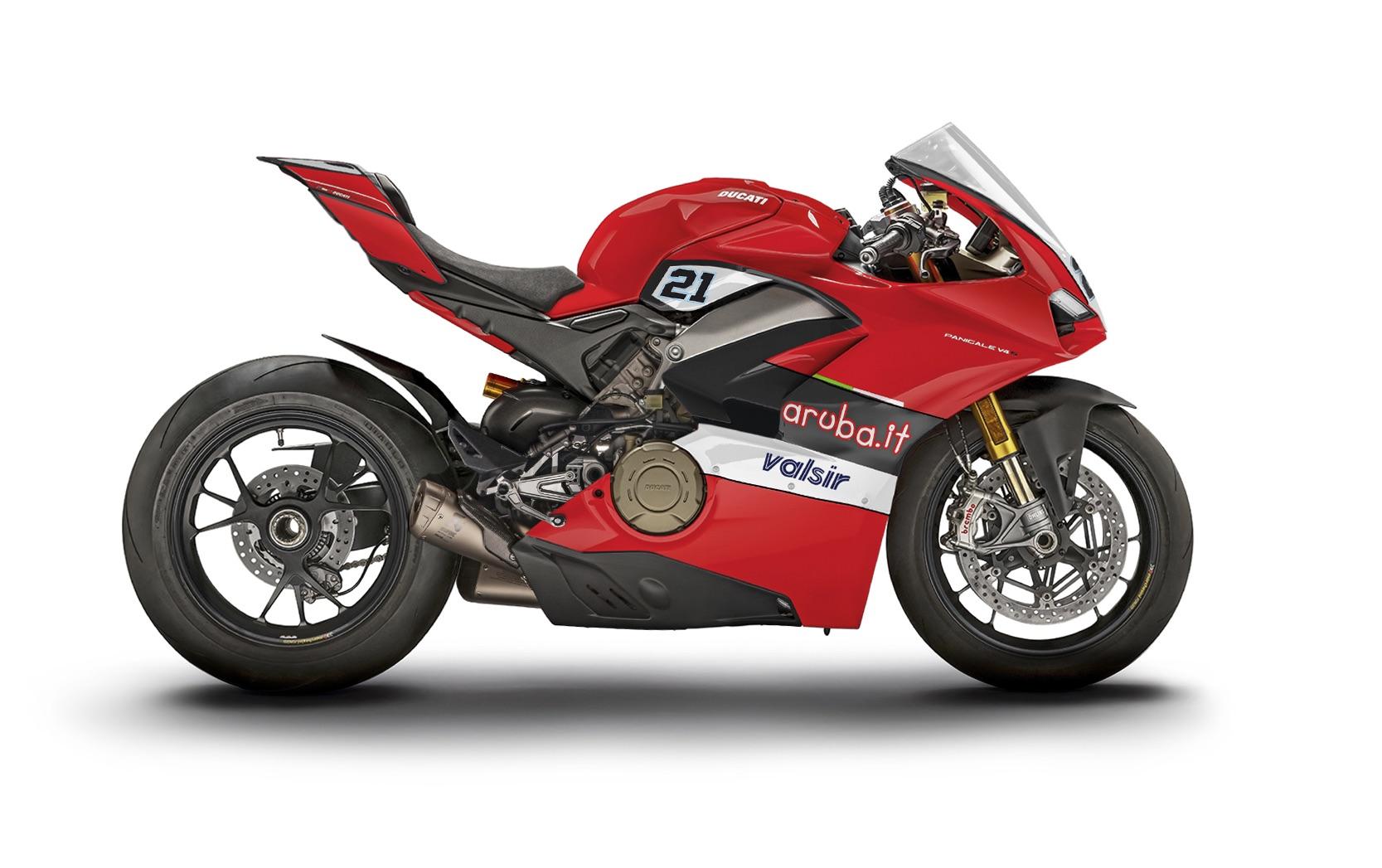 Ducati V4 Panigale Troy Bayliss