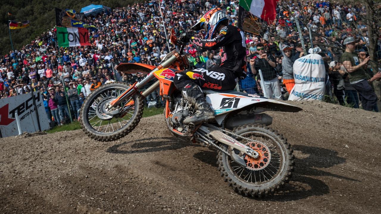 Jorge Prado en el Mundial de MX2 2018