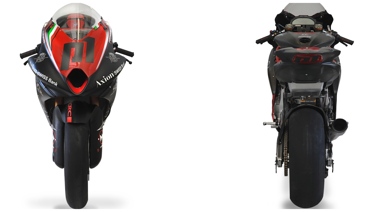 MV Agusta 2019 Forward Racing Moto2 Project