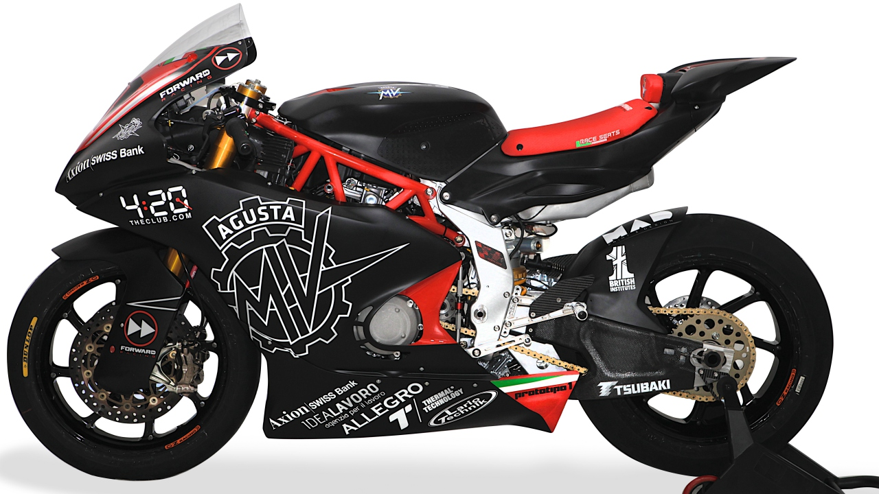 MV Agusta 2019 Forward Racing Moto2 Project