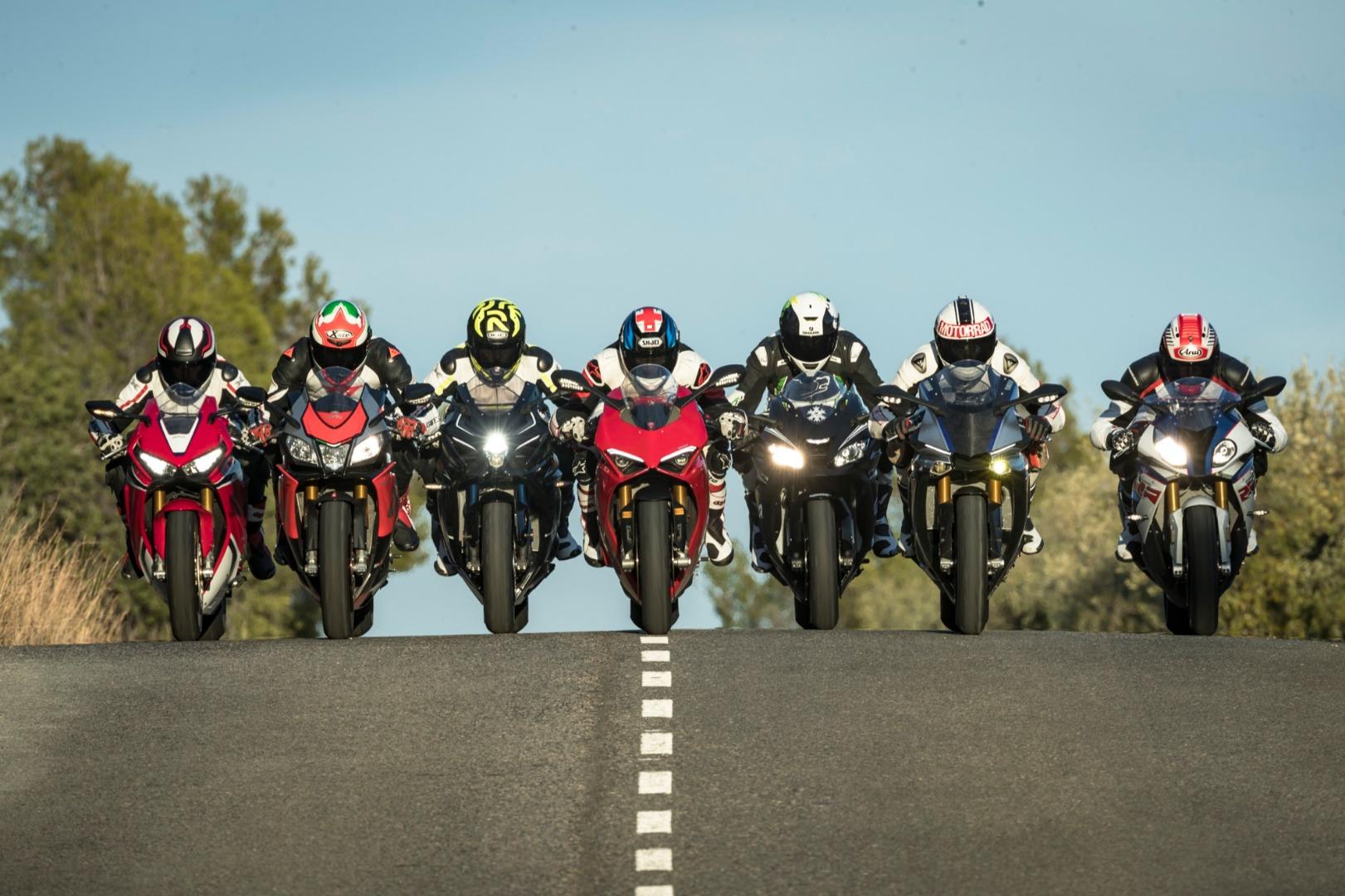 Comparativa Superbike 2018