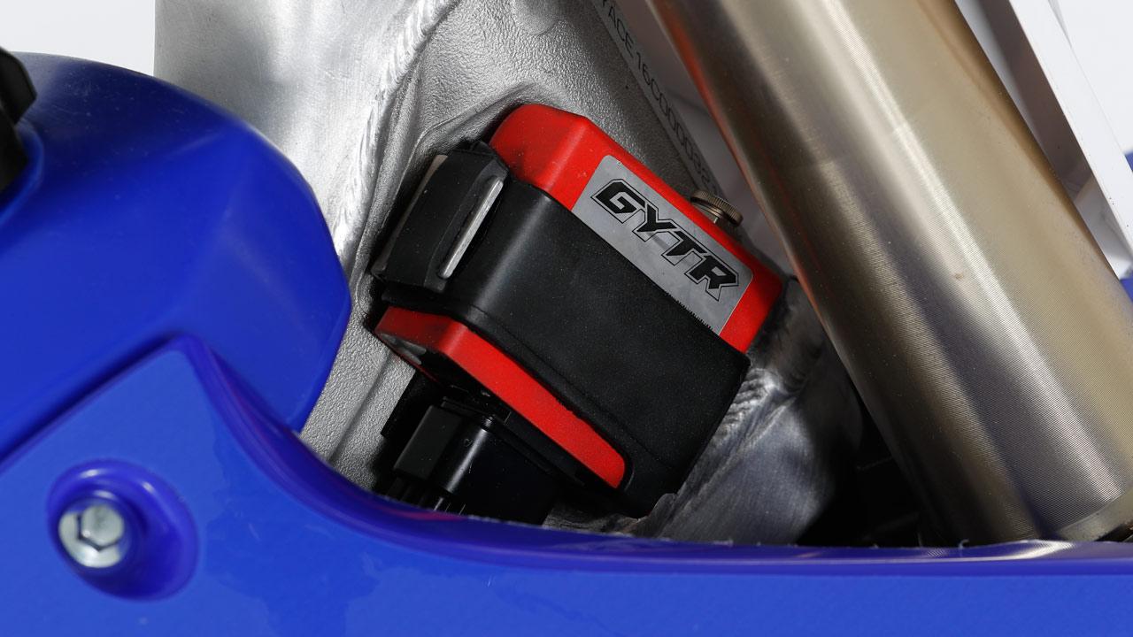 Yamaha YZ 125 GYTR, prueba racing