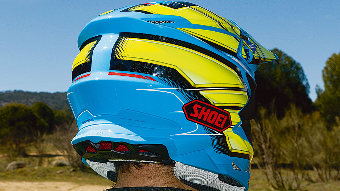 Long test: casco Shoei VFX-WR