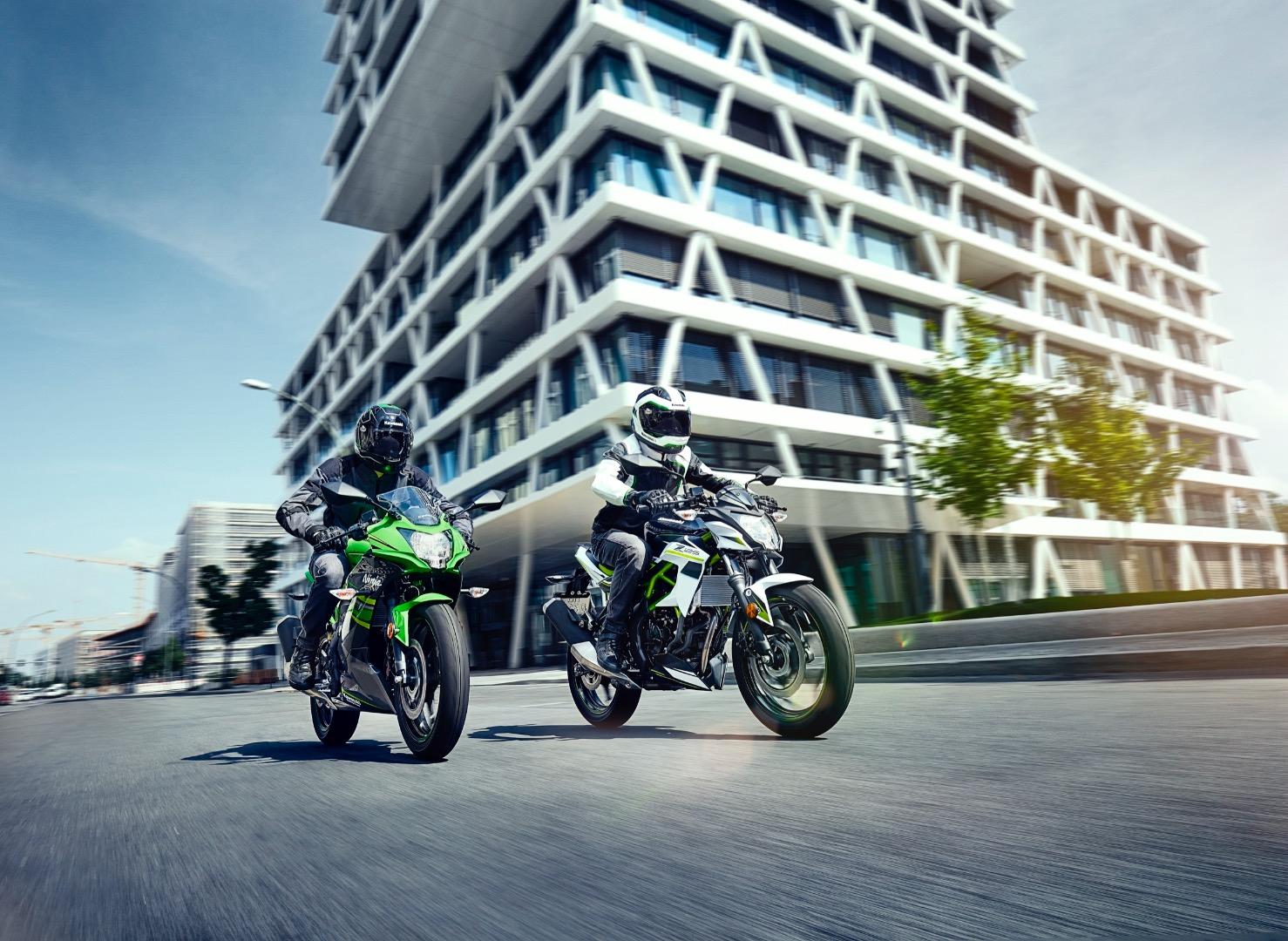 Kawasaki Z125 & Kawasaki Ninja 125