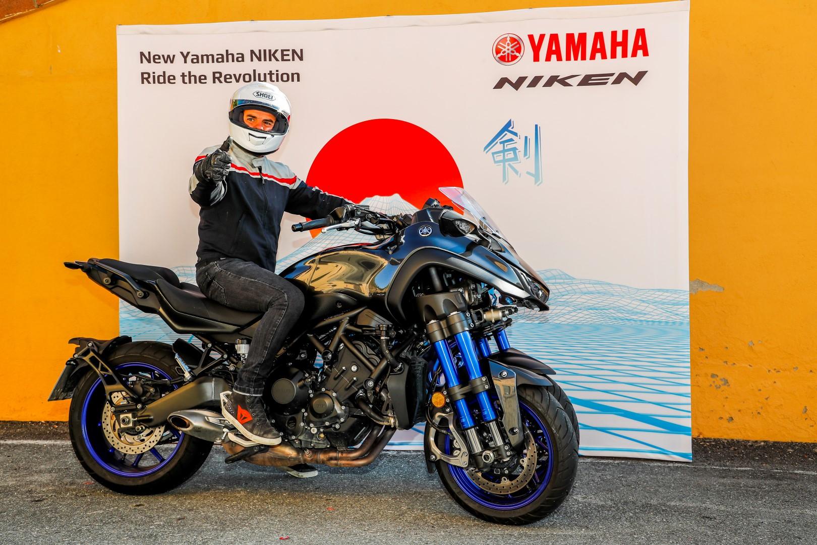 Yamaha Niken Tour 2018