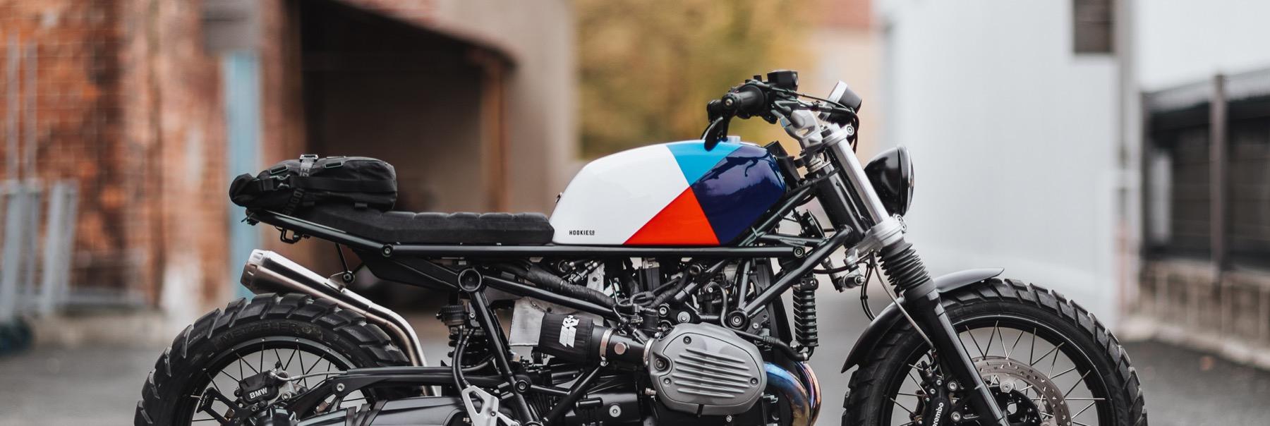 BMW R NineT con kit de Hookie Co.