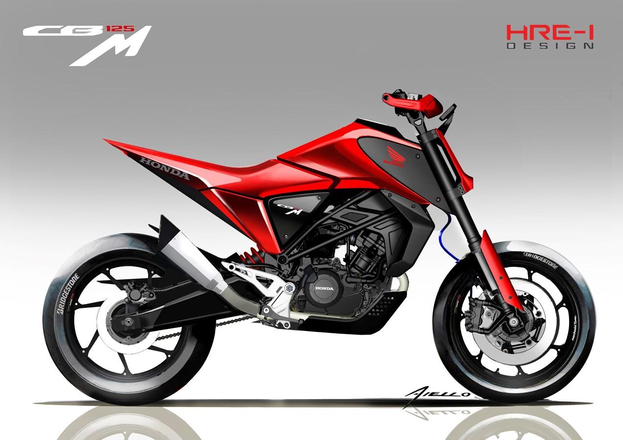 Honda CB125M y CB125X, dos conceptos en el EICMA de Milán. Fotos
