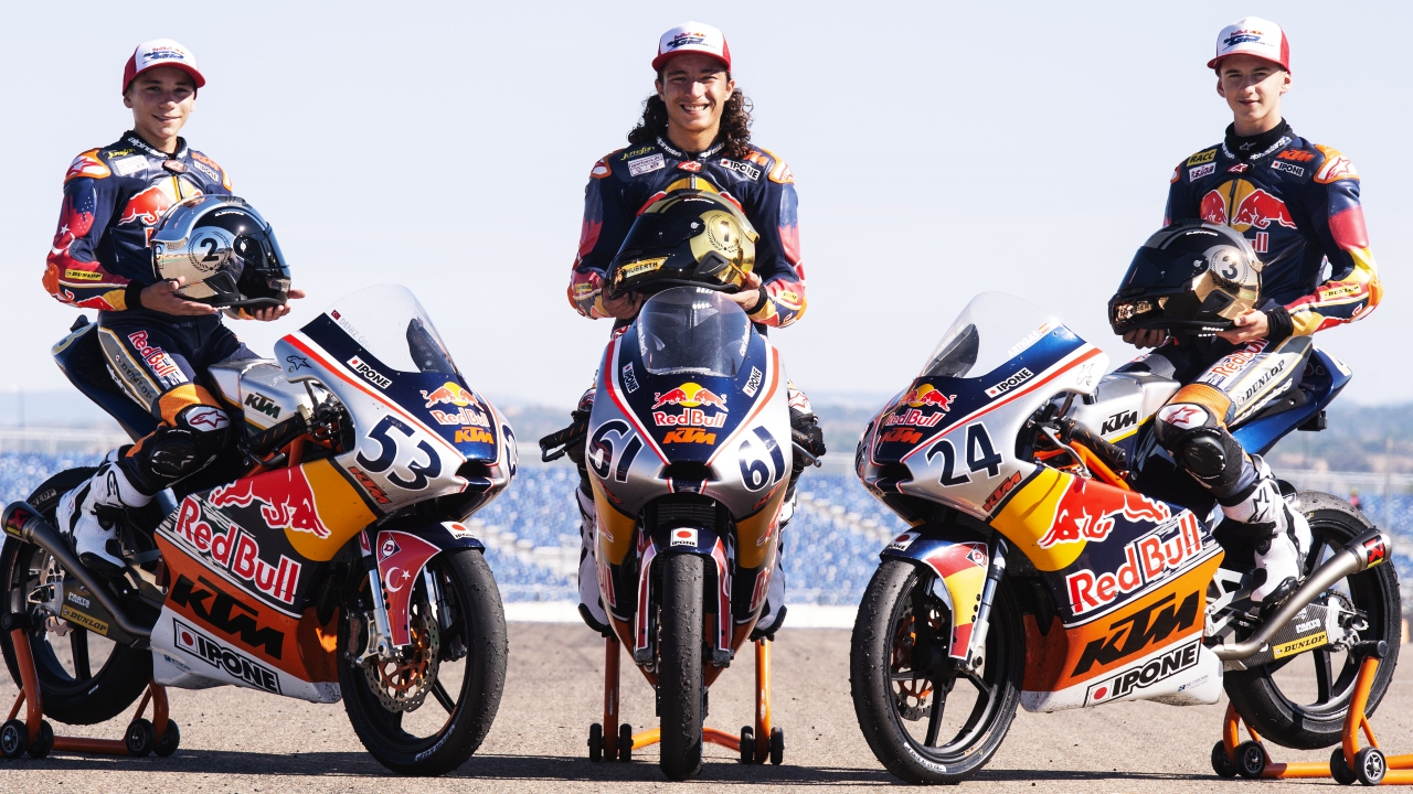 Clasificaciones finales 2018 FIM CEV, Red Bull Rookies Cup y Talent Cups