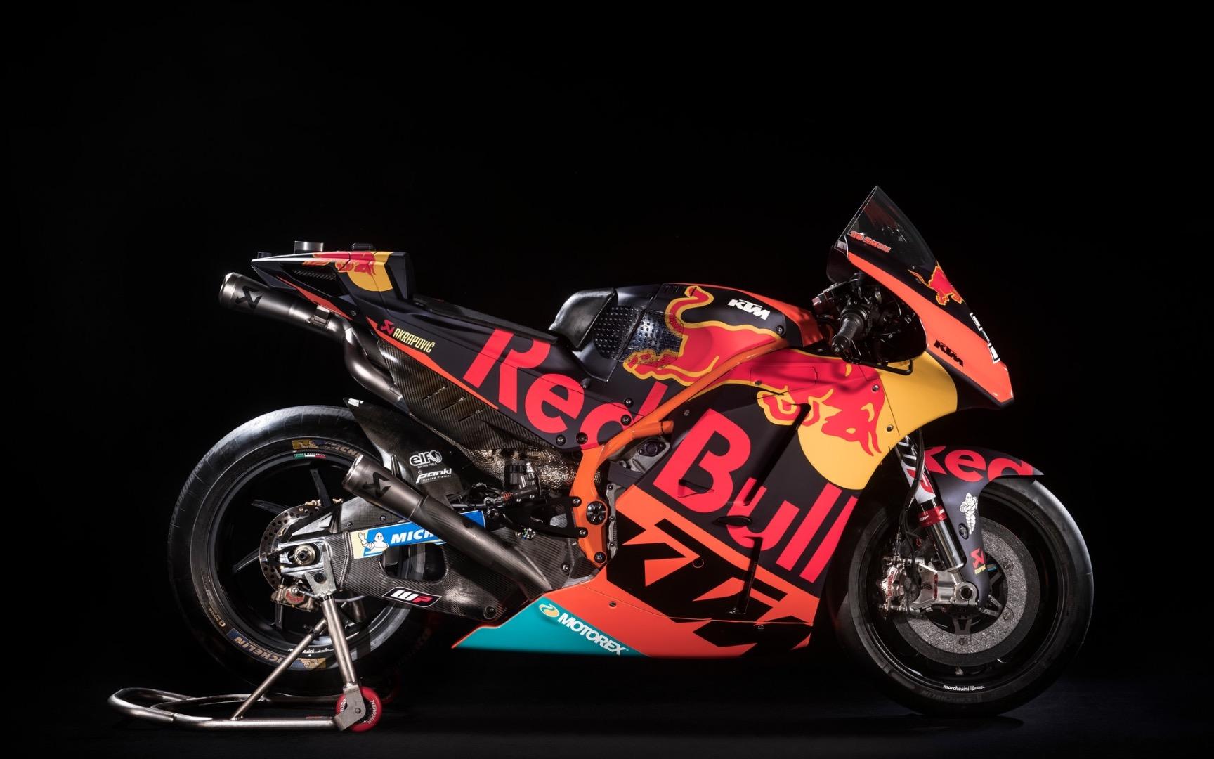 KTM te vende dos unidades de su MotoGP, la KTM RC16