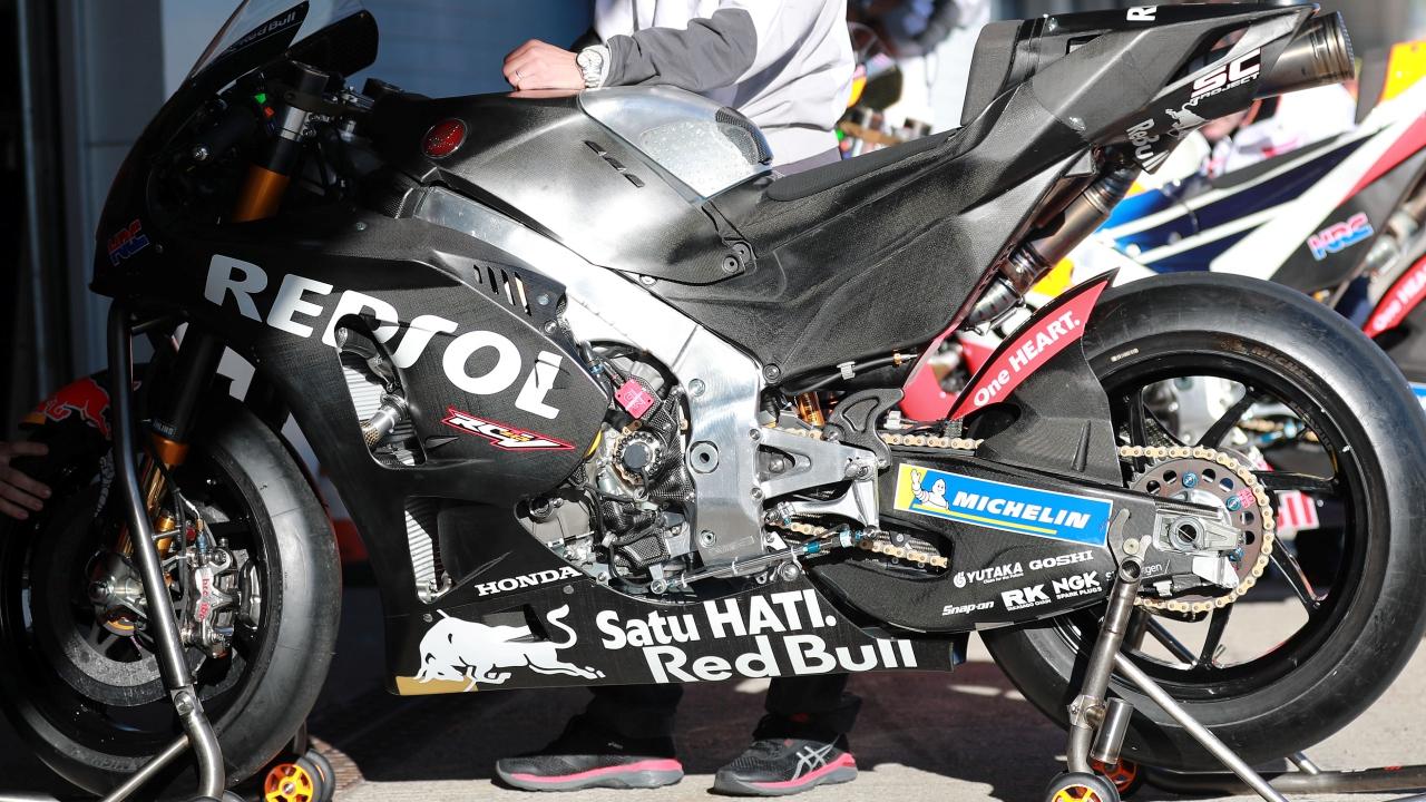 La Honda RC213V de Marc Márquez en los test pre MotoGP 2019, al detalle