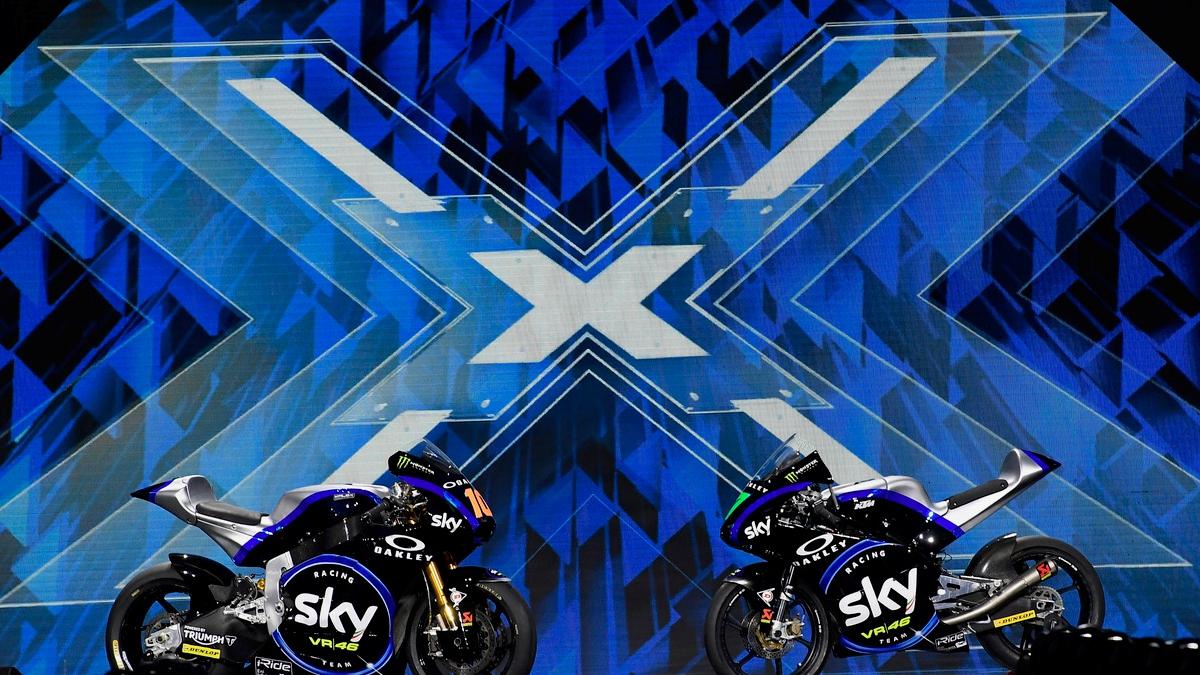 Presentación Sky Racing Team VR46 2019