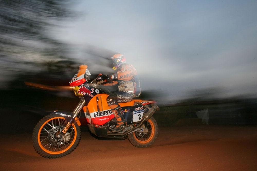 Todas las KTM ganadoras del Dakar