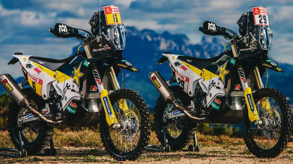 Las motos del Dakar 2019